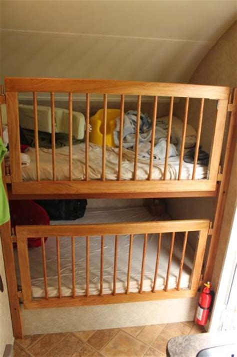crib for bed studs installing a crib side in a bunk r pod nation