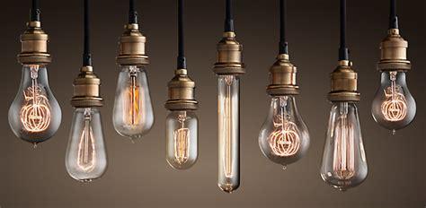 looking at lights lightbulbs restoration hardware