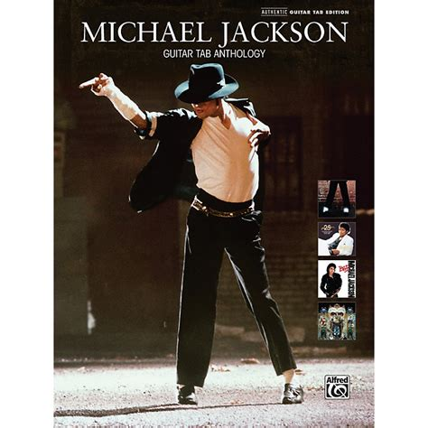 michael jackson picture book alfred michael jackson guitar tab anthology book