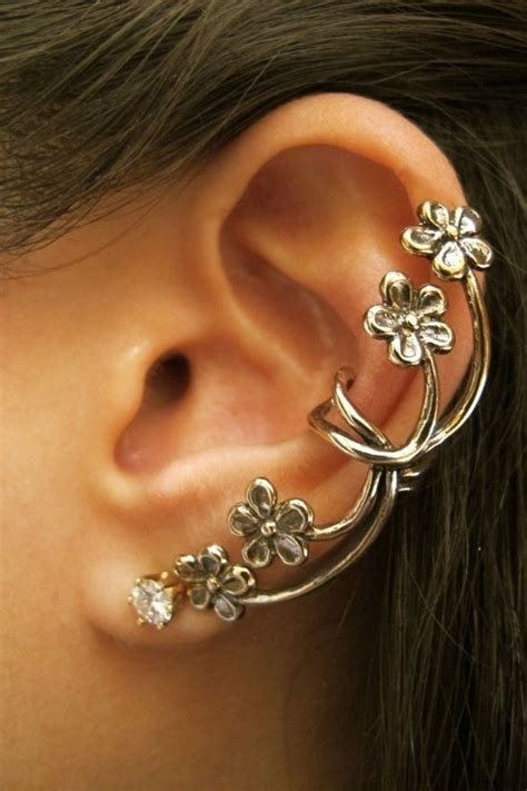 how to make ear cuffs jewelry 1000 ideas about ear cuffs on ear peircings