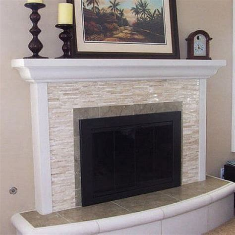 tiled fireplace surrounds 1000 ideas about fireplace tile surround on
