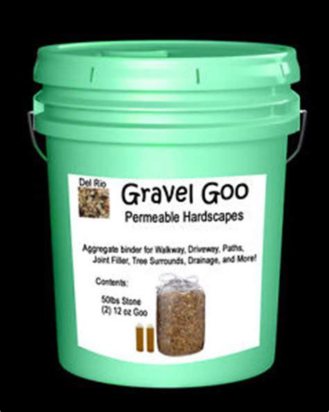 Kitchen With Stone Backsplash gravel goo resin binder driveway walkway permeable