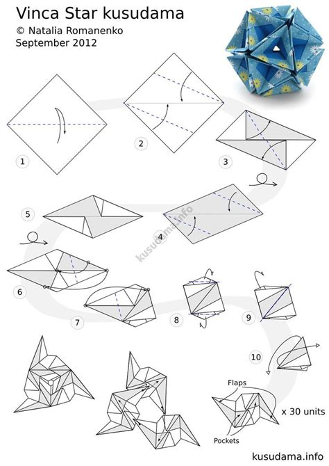 origami sphere tutorial 253 best kusudamas images on modular origami