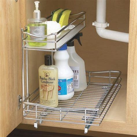 kitchen sink storage solutions 17 best images about kitchen trash can on