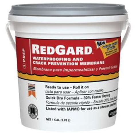 home depot paint guard custom building products redgard 1 gal waterproofing and