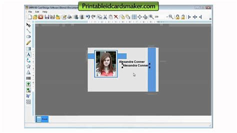 card downloads free id cards maker software card generator tool freeware