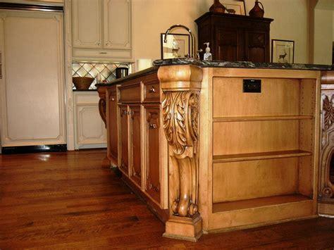 island height corbels stunning addition to open kitchen design osborne wood