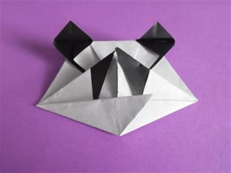 origami panda make an origami panda