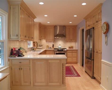 kitchen cabinets with light countertops maple cabinets light countertop dining kitchen