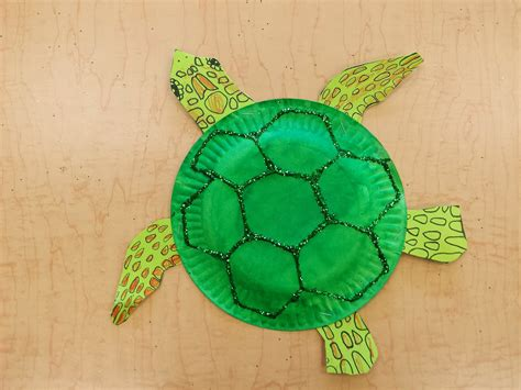how to make a turtle out of paper plate sea turtle free template