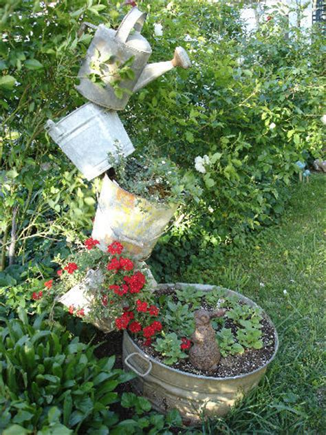 garden craft ideas for diy craft projects for the yard and garden trash to treasure