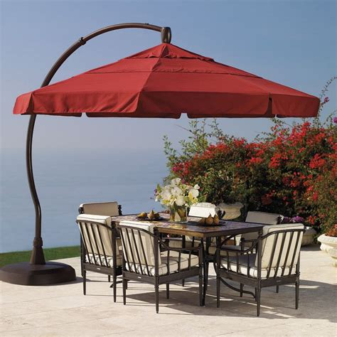 frontgate patio umbrellas pin by harris on home ideas