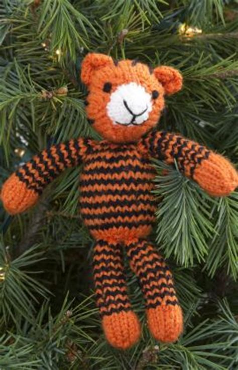 tiger knitting pattern free circus time lions and tigers to knit and crochet free