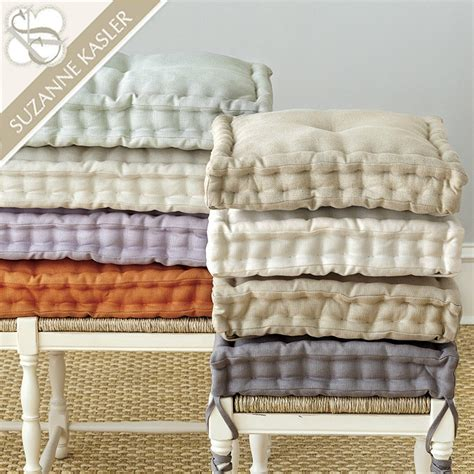 Ballard Designs Dining Chairs french mattress style cushion home spun style