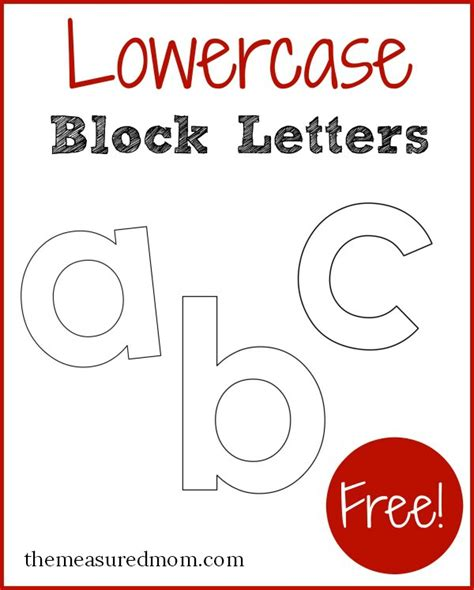 my book of lowercase letters free printable letters in lowercase the measured