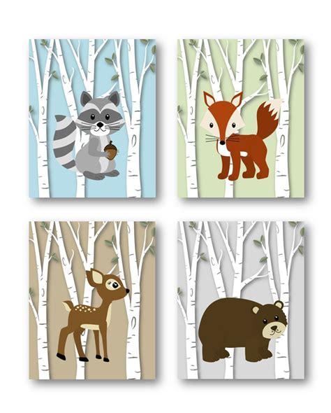 woodland creatures nursery decor woodland nursery decor woodland nursery by