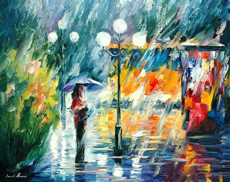 paint with a twist winter park trolley palette knife painting on canvas by