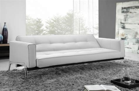 modern leather sofa bed leather sofa beds modern white