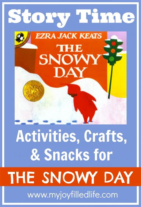 picture book activities the snowy day story time activities my filled