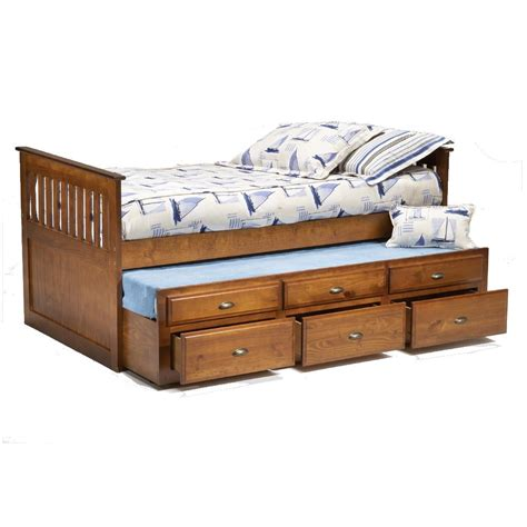 Ikea Home Planner Bedroom by Bernards Logan Twin Captain S Bed With Trundle Amp Drawers