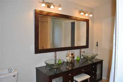 frames for large bathroom mirrors mirror mirror on the wall diy my home