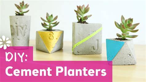 diy cement planters diy cement planters diy wedding sea lemon