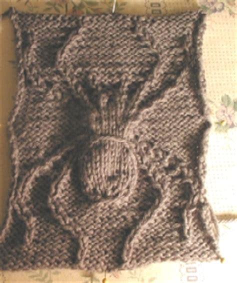 spider knitting pattern knits spidey sense tingling