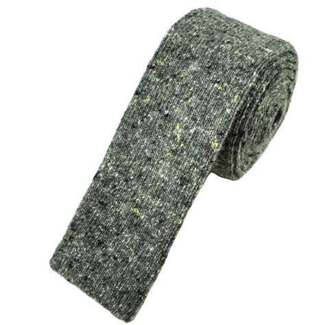 wool knit ties profuomo grey wool blend designer knitted tie