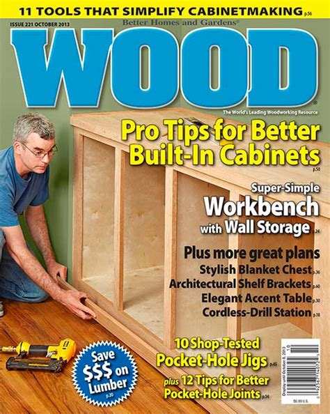 woodworking at home magazine wood issue 221 october 2013 woodworking plan from wood