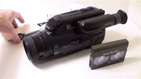 camara de video 8mm a first look at a sony video 8 camcorder from 1994 ccd