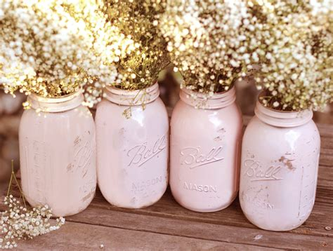 shabby chic weddings shabby chic weddings jars distressed paint glass jar