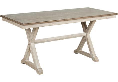 nantucket white counter height dining table