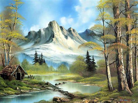 bob ross painting landscape 1000 images about bob ross favorite painter on