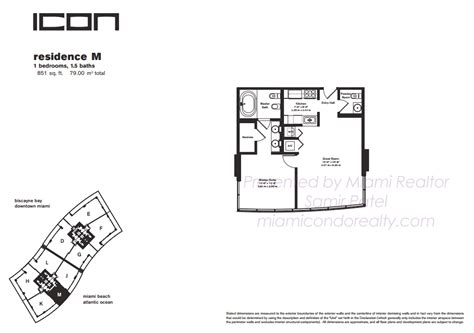 icon south floor plans icon south condos 450 alton road miami fl 33139
