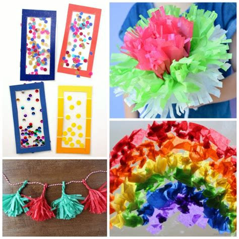 tissue paper arts and crafts for beautiful tissue paper crafts for what can we do