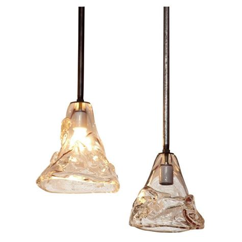 blown glass lighting fixtures industrial hanging pendant lights with blown glass at