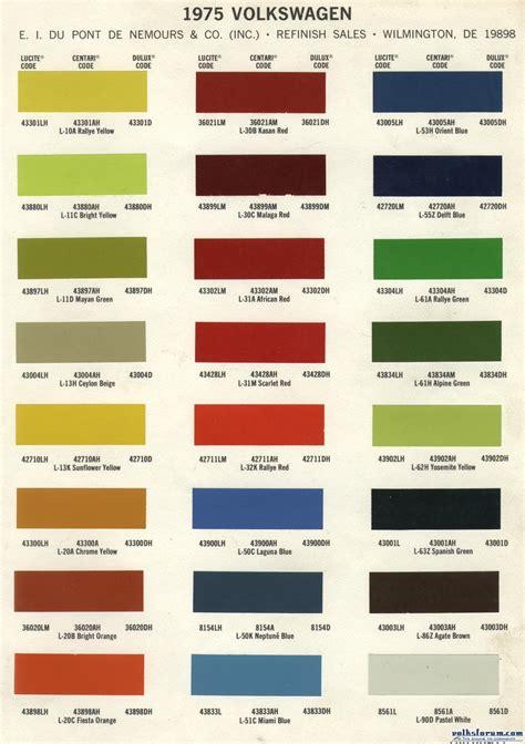original paint colors vw volksforum golf 1 1974 zwaluwstaart org nld