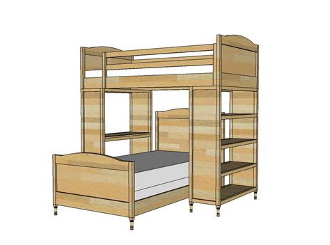 bunk bed plans build your own bunk bed free plans discover woodworking