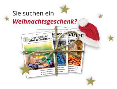 Der Hessische Obst Und Gartenbau by Unser Garten Verlag Geschenk Abo