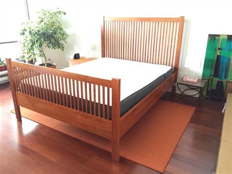 mission style bed frames beautiful mission style bed frame for sale vancouver