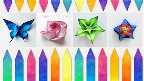 color paper crafts ideas how to color paper for origami and other paper crafts