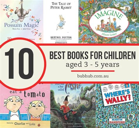 best picture books for 5 year olds 10 awesome books for children aged 3 5 years bub hub