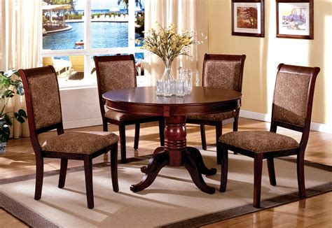 cherry wood dining room furniture st nicholas ii antique cherry pedestal dining room set from furniture of america