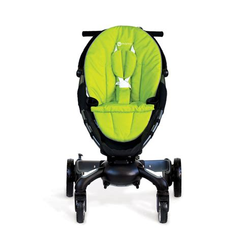 origami power origami automatic power folding stroller the green