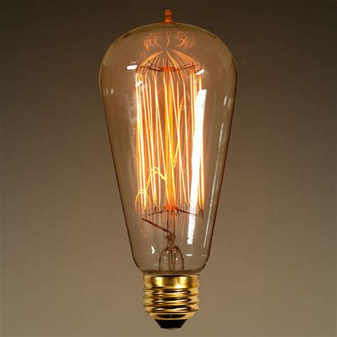 original lights antique light bulb edison style glass