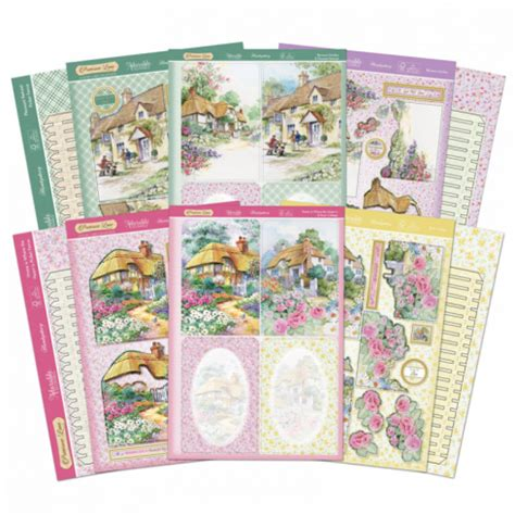 decoupage kit hunkydory picket fence decoupage card kit hunkydory from