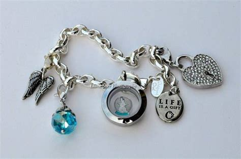 origami jewelry charms origami owl bracelet locket and charms giveaway ends 5 10