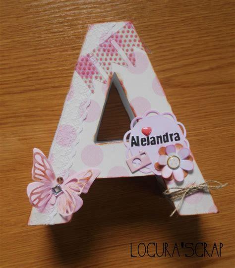 letras de carton decoradas locura scrap blog dedicado al scrapbooking y