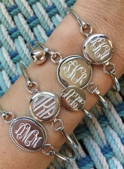 how to make monogram jewelry 25 best ideas about monogram bracelet on