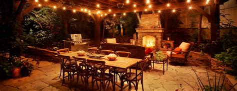 patio table lighting patio lighting ideas the garden